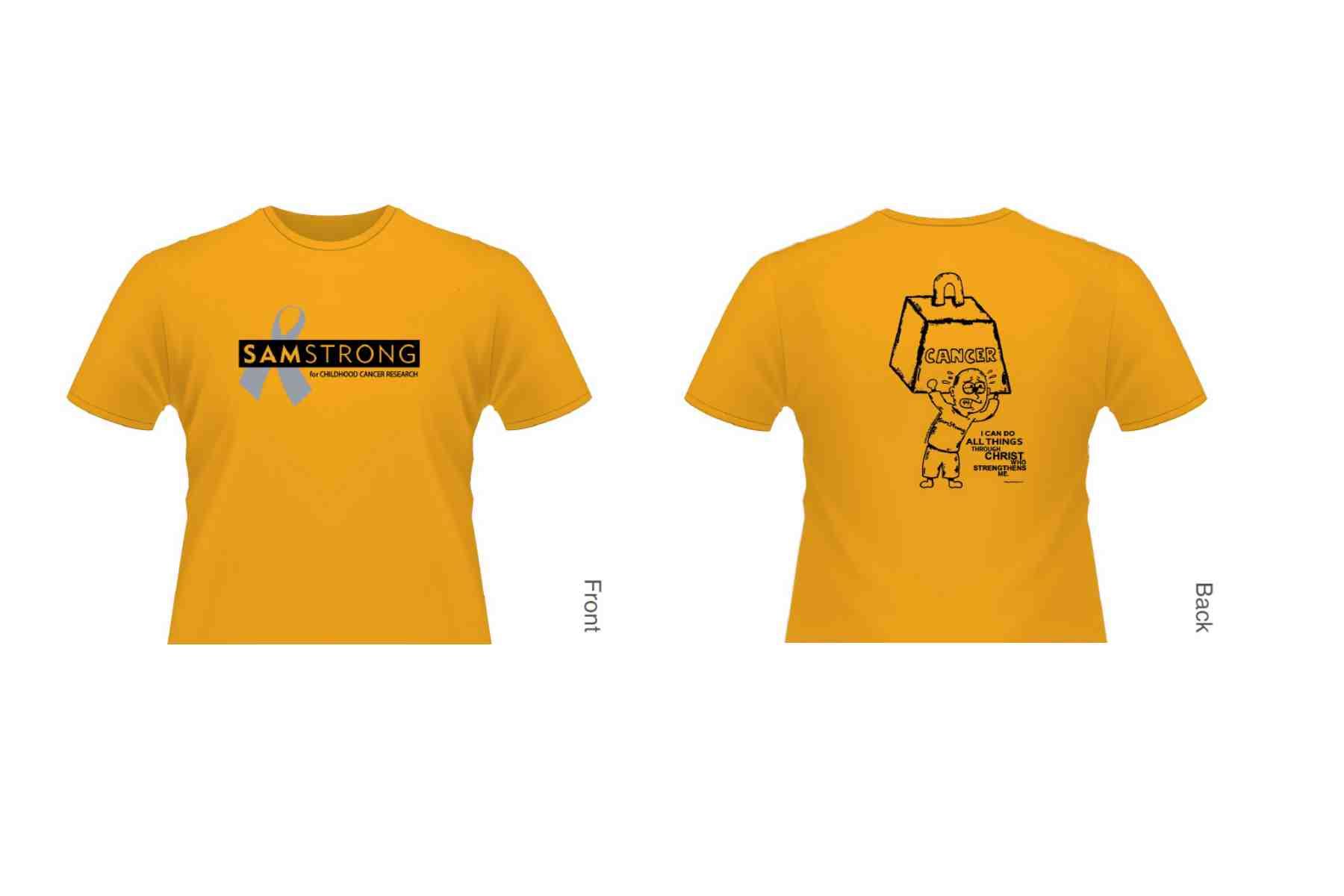 24e2f1775d5 Childhood Cancer T Shirts « Alzheimer's Network of Oregon