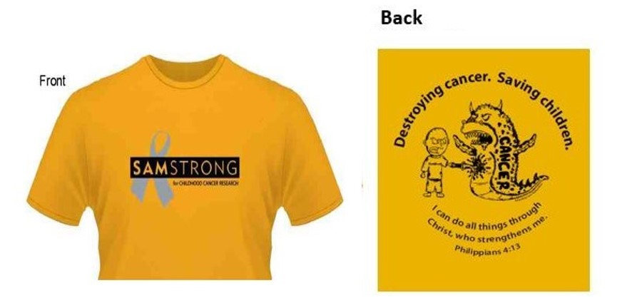 Order SamStrong T-Shirts and other items